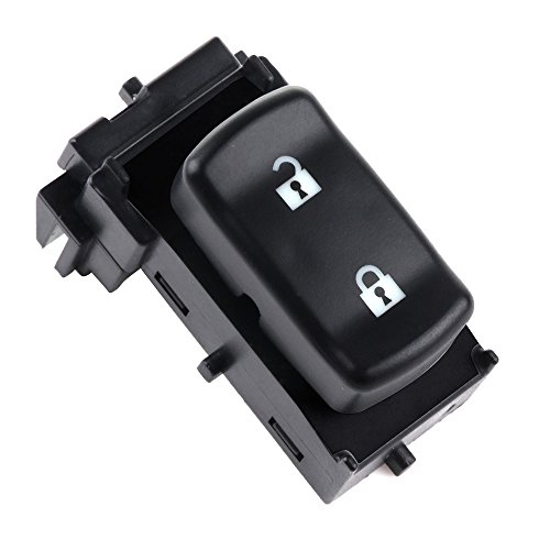 witch Master Control Switch Front Left/Rihgt Replacement fit for 2005-2007 Buick Terraza 2005-2011 Chevrolet Corvette 2005-09 Chevrolet Uplander 2005-2009 Pontiac Montana 10315842 ()