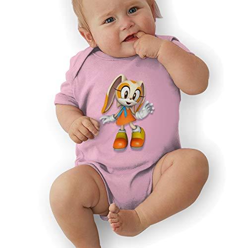 PopNoun Babys Sonic Hedgehog 3D Rabbit Cosy Short Sleeve Jumpsuit Outfits 18M ()