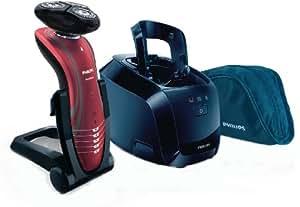 Philips SHAVER Series 7000 SensoTouch RQ1197/22 Máquina de afeitar de rotación Recortadora Rojo - Afeitadora (Máquina de afeitar de rotación, SkinGlide, Rojo, Carga, AC/Batería, Ión de litio)