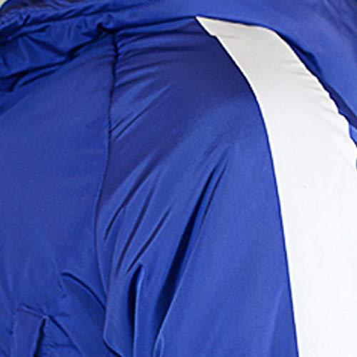 Hommes Chaude Bleu Veste Largatamaño Grand Sweat Manteau Capuche Men À Et Hiver Beladla Section Down Medium Anorak Xqatf8w