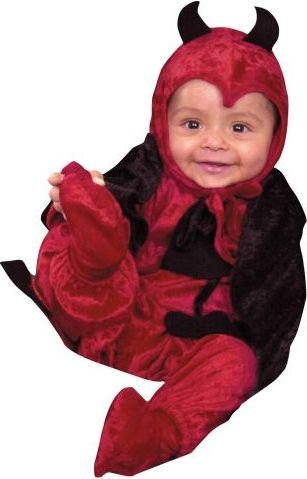 Costume Darling Devil Toddler (Darling Devil Toddler Costume - Infant 6 - 18)