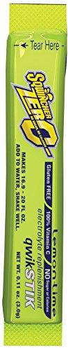 (Single Serve Qwik Stik Zero, 50 Sticks/Bag, Lemon-Lime)