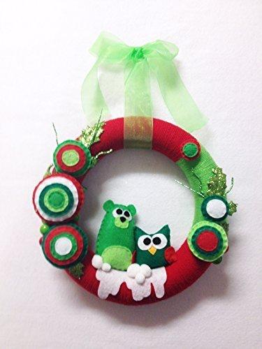 Yarn Wreath - 1