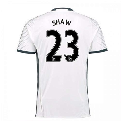 2016-17 Man Utd Third Football Soccer T-Shirt Jersey (Luke Shaw 23)