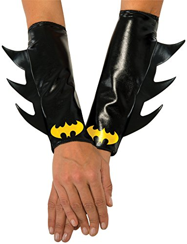 [Rubie's Costume Co Women's DC Superheroes Batgirl Gauntlets, Multi, One Size] (Batgirl Costumes Cosplay)
