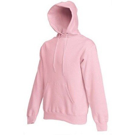 Fruit of the Loom Classic 80/20 hooded sweat Light Pink 2XL