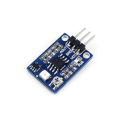 Uv sensor amazon dc33 5v 200nm 370nm response wavelength uv detection sensor module ultraviolet ray uv sensor module for arduino publicscrutiny Choice Image