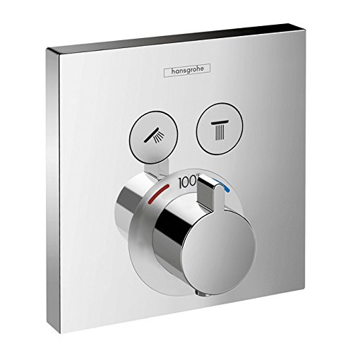 Select E Thermostatic Trim 2 Function Finish: Chrome by Hansgrohe