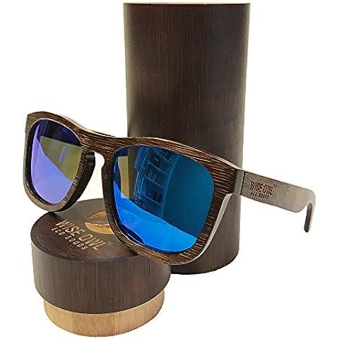 60135195d23 Unisex   100% Bamboo Wood POLARIZED Sunglasses