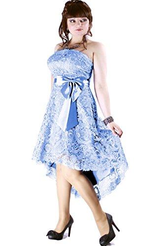 Größe Farbe Abendkleid Juju und Damen Türkis Cocktail Christine XnnYOgw
