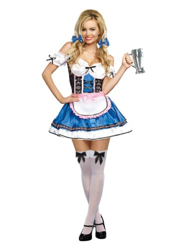 Dreamgirl Women's Happy New Beer Costume, Multi,