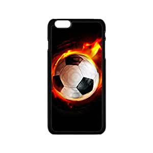 Happy Fire Football Custom Protective Hard Phone Cae For Iphone 6