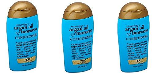 OGX Renewing Moroccan Argan Oil Conditioner 3 ounce ea