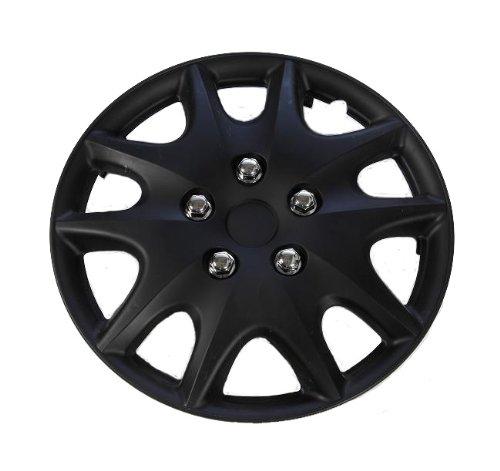 black 14 inch hubcaps - 3