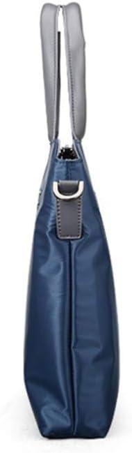 ZhiGe Briefcase,Mens Business Briefcase Cross-Section Tote Bag Computer Shoulder Bag Oxford Cloth