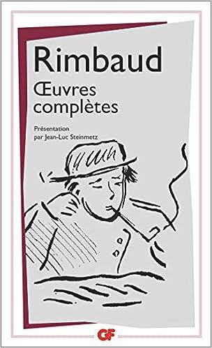 Oeuvres Completes Gf Amazones Arthur Rimbaud Libros En