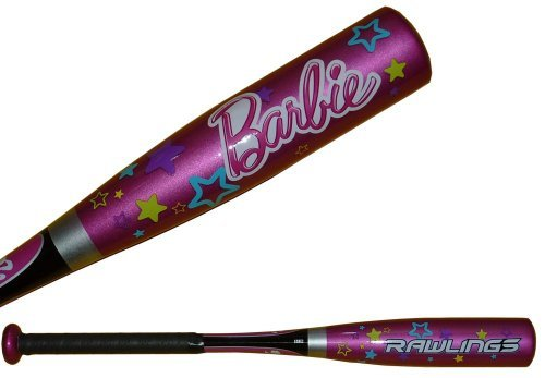Rawlings Barbie Tee Ball Bat 25'', 15 oz. by Rawlings