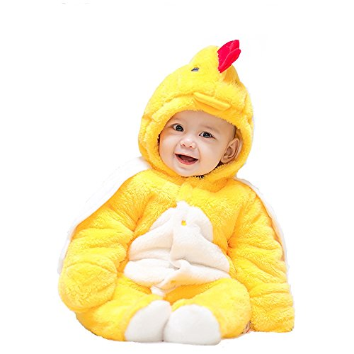 Wolfman Jack Costume (Chicken Costume, MagicQK Toddler Cute Warm Baby Jumpsuit Christmas Present for Newborn to 18 Months (0-3M/22