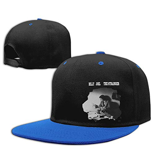 LEILEer Billy Joel The Stranger Unisex Contrast Hip Hop Baseball Cap Blue