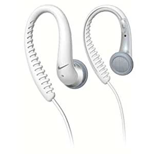 Amazon.com: Nike SHJ025 Flexible Earhook Headphone (White ...