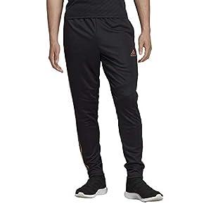adidas Men's Tiro19 Training Pants, Black/Nude Pearl Essence, Small