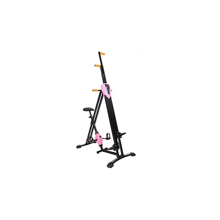 Binxin Vertical Climber Folding Fitness Step Machines for Home Gym Exercise