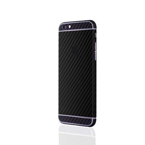 AppSkins Rückseite iPhone 6/6s Carbon black/black