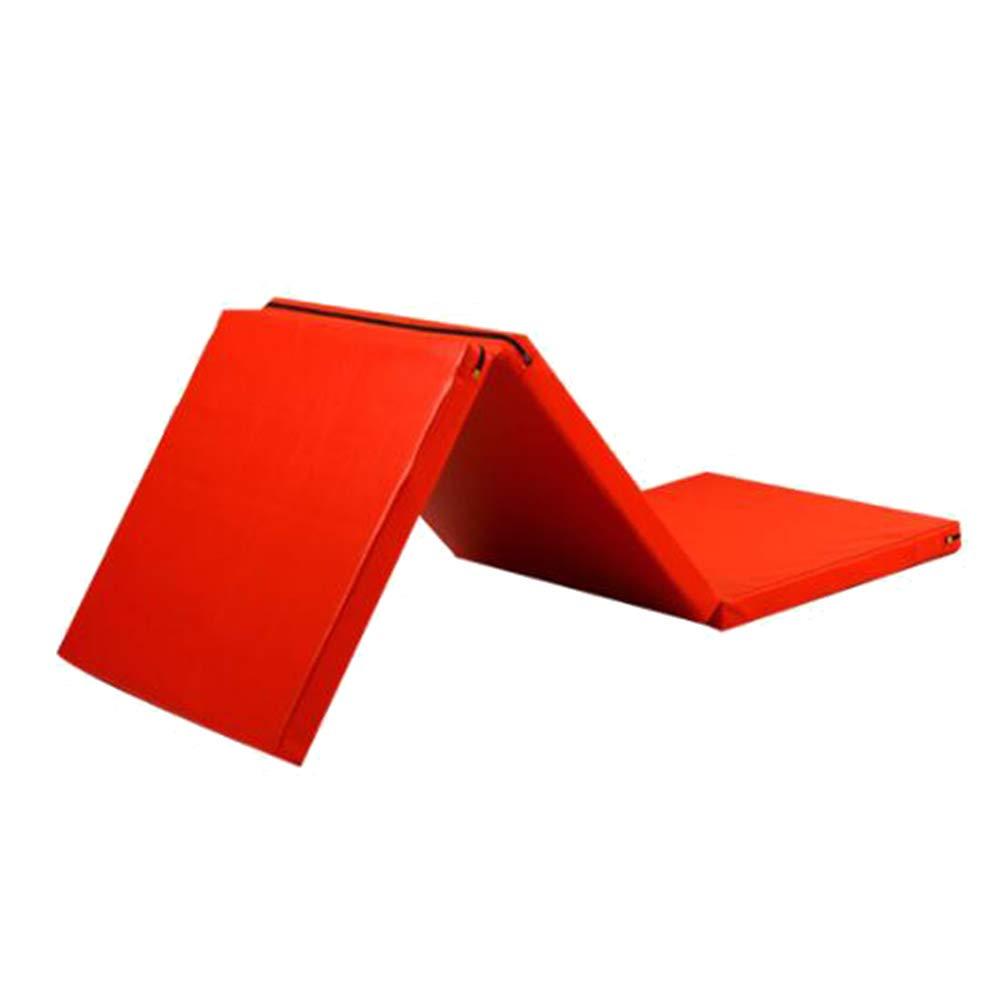 ZJ 60×180×5CM 5センチ厚い折りたたみ体操マット運動エアロビクスマットストレッチフィットネスヨガパッドpuパネル軽量タンブリングマット さいず (色 : イエロー いえろ゜, サイズ さいず B07MKWWTP6 : 80×180×5CM) B07MKWWTP6 Red 60×180×5CM 60×180×5CM|Red, 自然素材の森:795b81f4 --- krianta.com