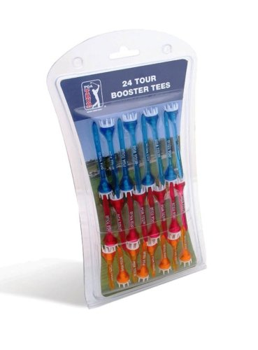 PGA Tour Booster Tees (Pack of 24)