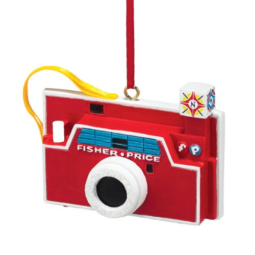 Department 56 Fisher Price Fisher-Price Camera Ornament, 2.25-Inch