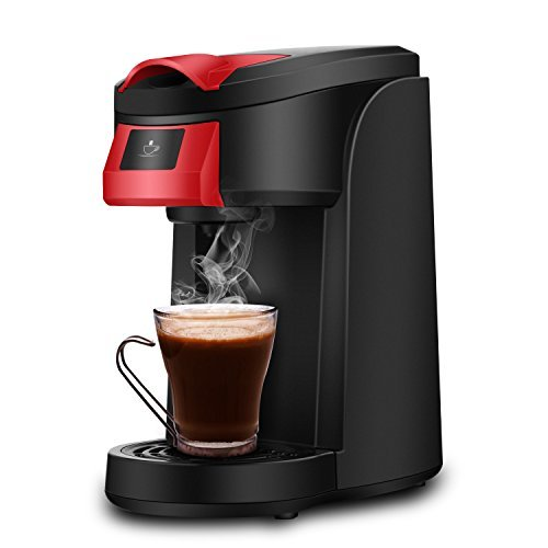 Single Serve Coffee Maker, SOWTECH 2 in 1 3.5 Bar Coffee...