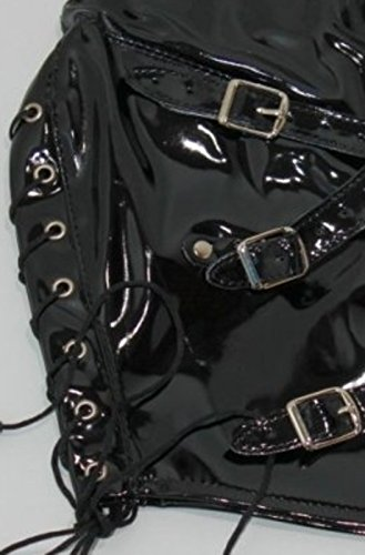 Multiplex Bondage Hood Leather by BDStyle