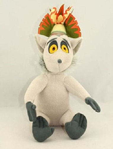 Mario Toad Costume Toddler (Madagascar King Julien 12 Inch Toddler Stuffed Plush Kids Toys)