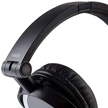 Edifier H650 Headphones – Hi-Fi On-Ear Foldable Noise-Isolating Stereo Headphone, Ultralight and Tri-fold Portable – Black