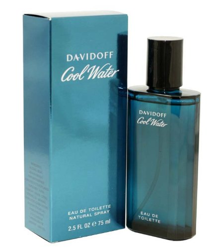 Cool Water By Zino Davidoff For Men. Eau De Toilette Spray 2.5 (Cool Water Natural Spray)