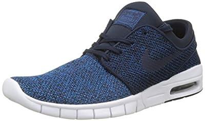 Nike Men's Stefan Janoski Max Industrial Blue / Obsidian-photo BlueSneakers - 11 D(M) US
