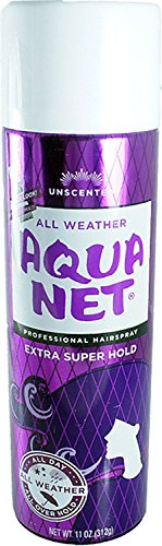 Aqua Net Extra Super Hold Professional Hair Spray Unscented 11 oz (Pack of - Net Aqua Spray Hair
