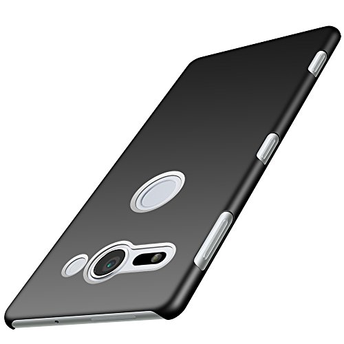 Anccer Sony Xperia XZ2 Compact Case [Colorful Series] [Ultra-Thin] [Anti-Drop] Premium Material Slim Cover for Sony Xperia XZ2 Compact 2018 (Dark)