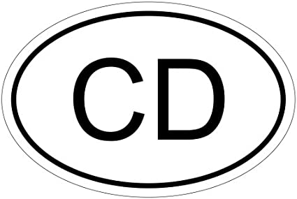 Kiwistar Kongo Cd 15 X 10 Cm Autoaufkleber Sticker Aufkleber Kfz Flagge Auto