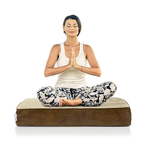 eLuxurySupply Square Meditation Cushion