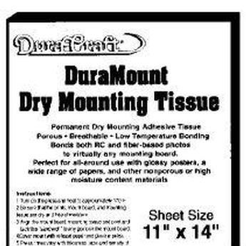 Tissue Dry Mount (DuraCraft DuraMount Dry Mounting Tissue (11
