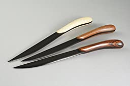 Wooden Letter Opener with Ebony Blade