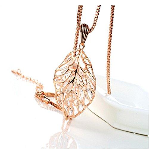Tuscom Elegant Fashion Crystal Necklace