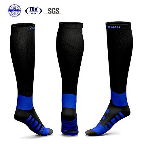 Price comparison product image Compression Socks for Men & Women,  KKUP2U Compression Socks 20-30 mmhg for Flight,  Maternity,  Athletics,  Travel,  Nurses - Medical Care Grade,  Boost Stamina,  Circulation & Recovery