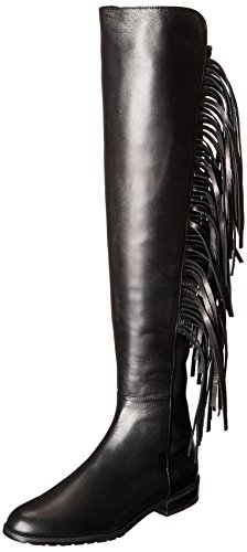 Stuart Black Riding Napa Boot Women's Mane Weitzman rOqwxPvgr