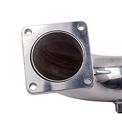 "High Flow Raw Intake 3"" Elbow Pipe Fits 2003-2007 Dodge Ram 2500 3500 Cummins 5.9L Diesel: Automotive"