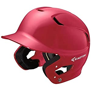 Easton Senior Z5 Batters Helmet, Red