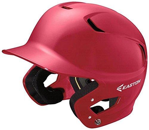 EASTON Z5 Batting Helmet   Senior   Red   Baseball Softball   2019   Dual-Density Impact Absorption Foam   High Impact Resistant ABS Shell   Moisture Wicking BioDRI Liner