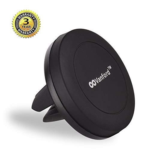 Vanford - Universal Air Vent Magnetic Phone Holder for Car, Magnet Car Mount for Smartphones Cell Phones and GPS Navigator