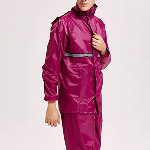 Per Per Casual Impermeabile HaiDean Cappotto Uomo Uomo Uomo Con Moderna Impermeabile Cappuccio Impermeabile Esterno Pioggia Impermeabile Impermeabile Da Da Da Blu Pioggia TTXRxq8